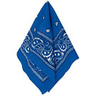 西部牛仔領巾1入-藍...