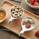 甜品碗 加點樂 可愛小鴨碗醬料碗創意陶瓷小碗調料碟小吃碗甜品酸奶碗【快速出貨八折下殺】
