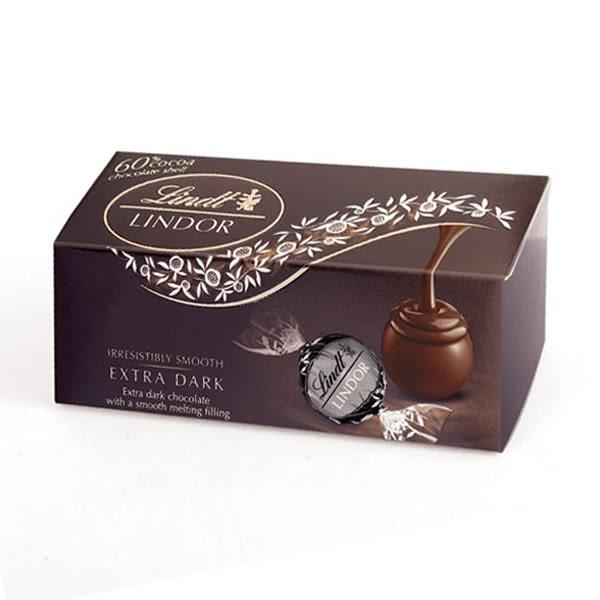 瑞士蓮60%黑巧克力3入 【康是美】