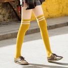 促銷 長筒襪女過膝襪日系高筒襪長襪子學生潮ins黑色運動春秋冬季可愛