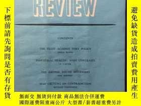 二手書博民逛書店【罕見】1953年11月刊 Communist Review (