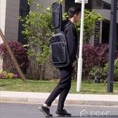 吉他包新款斗牛士琴包電吉他雙肩背包黑海綿加厚個性吉他袋手提電吉 多色小屋YXS