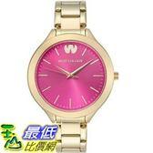 [104美國直購] 女士手錶 Wristology MACY3 Macy Ladies Gold Pink Dial Face Thin Strap Boyfriend Watch Wristwatch