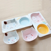 卡通幼貓專用陶瓷貓碗