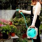 灌溉噴頭園藝專用澆花神器澆菜澆水灌溉高壓噴霧花灑水槍迷你水管車套裝 小山好物