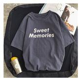 ★現貨速達★ 潮T 文字T 情侶T 情侶裝  純棉短T MIT台灣製【Y0828-1】SWEET MEMORIES