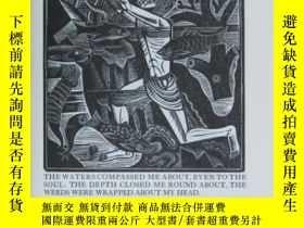 二手書博民逛書店【罕見】1926年金雞出版社出版,《約拿的書》,David Jo