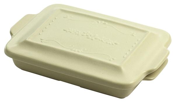 【日本製】 【HyggeStyle】 美濃燒耐熱陶器系列 焗烤盤 大 乳白色 SD-6368 - 日本製 美濃燒