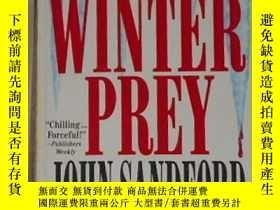 二手書博民逛書店英文原版罕見Winter Prey by John Sandfo