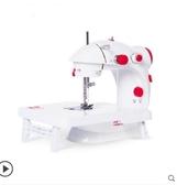 縫紉機家用電動迷妳多功能小型手動吃厚微型腳踏縫紉機新年交換禮物