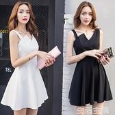 性感洋裝 女人味連身裙女夏天新款夜店氣質裙子仙女超仙森系禮服吊帶裙 生活主義