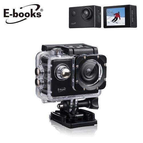 E-books P6 高清Full HD 運動攝影機 贈防水殼