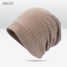薄款包頭帽子男潮頭巾睡帽休閒月子帽套頭帽堆堆帽 免運