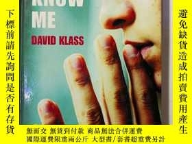 二手書博民逛書店You罕見Don t Know MeY425970
