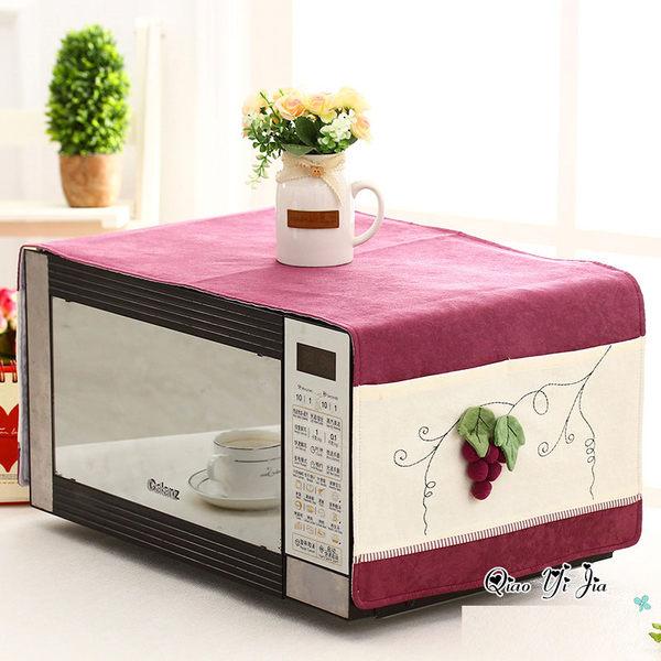 可愛時尚棉麻蓋布8 餐具 微波爐 烤箱 冰箱 (35*100cm)