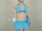 *日光部屋* 奧可那 (公司貨)/AQ14303 小女二件式泳裝(附泳帽/台灣製造)
