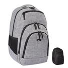 [2東京直購] Amazon Basic 後背包 防水 容納15吋筆電 33L容量 灰/黑
