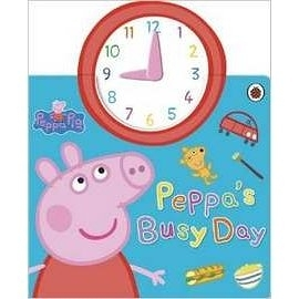 PEPPA PIG :PEPPA'S BUSY DAY 佩佩豬時鐘操作書