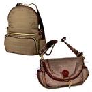 nicolettamoretti 棕色 側背 斜背 後背 可變換 包包 日本帶回正版商品