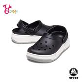 Crocs卡駱馳洞洞鞋 男鞋 園丁鞋 防水布希鞋 水陸鞋 懶人鞋 A1747#黑色◆OSOME奧森鞋業