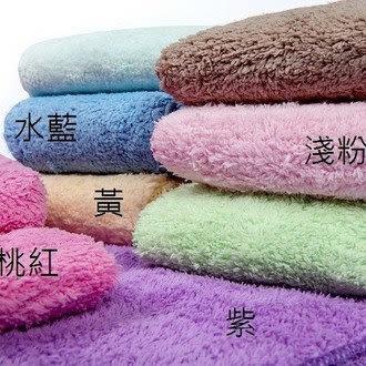 雪尼絨七倍力吸水長毛浴巾(1入)
