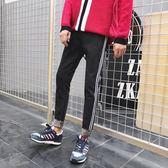 春夏季黑色牛仔褲男士修身小腳褲韓版原宿風寬鬆長褲子潮 交換禮物