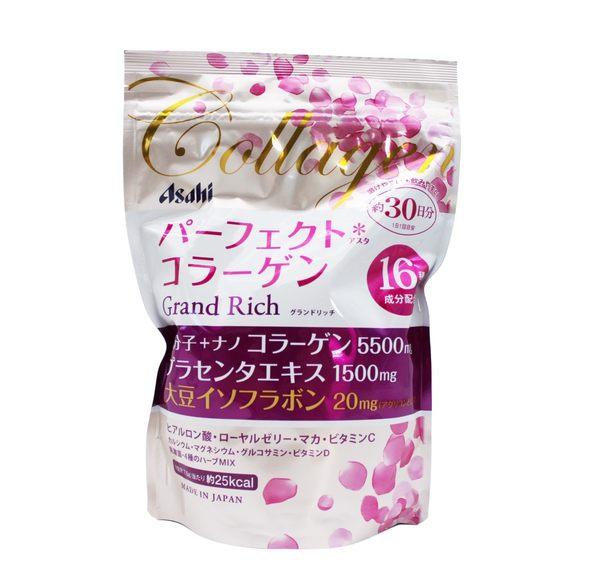 【一期一會】【現貨】日本Asahi 朝日膠原蛋白粉 粉金版 228g 2018全新推出 添加 大豆異黃酮 蜂王乳
