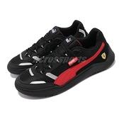 Puma 休閒鞋 Ferrari Race DC Future 黑 紅 法拉利 男鞋 賽車鞋 【ACS】 30653901
