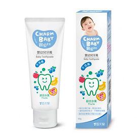 【佳兒園婦幼館】親貝比 雪芙蘭嬰幼兒牙膏-綜合水果(木醣醇配方) 50g