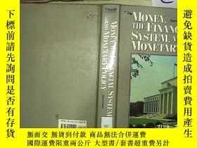 二手書博民逛書店MONEY,THE罕見FINANCIAL SYSTEM,AND