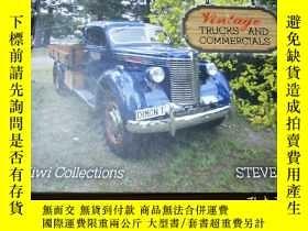 二手書博民逛書店Vintage罕見Trucks and CommercialsY