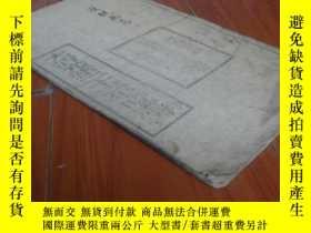 二手書博民逛書店大清光緒二十三年時憲書罕見白紙套印一冊全23826