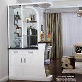入戶客廳雙面隔斷櫃鞋櫃現代簡約家用玄關門廳酒櫃進門裝飾屏風櫃 QM依凡卡時尚