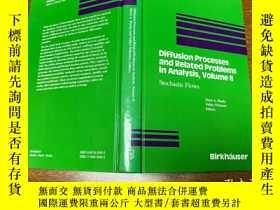二手書博民逛書店Diffusion罕見Processes and Related