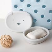 肥皂盒 Edo創意肥皂盒 雙層瀝水小豬香皂盒家用衛生間香皂置物架  芊墨左岸 上新