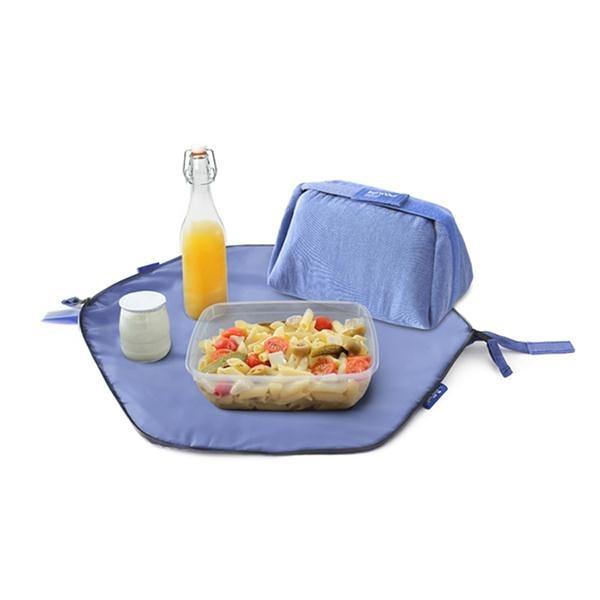 二合一餐袋/莓果藍【Roll'eat西班牙食物袋】