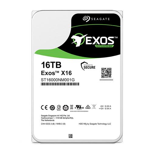 Seagate 希捷 Seagate 希捷 企業號 Exos 16TB 3.5吋 企業級 7200轉 硬碟 ST16000NM001G 5年保固