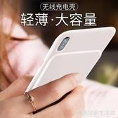蘋果背夾充電寶x快充xs max背夾式iPhone x電池xr快充手機殼大容量行動電源  完美居家生活館