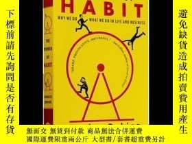 二手書博民逛書店習慣的力量罕見英文原版The power of habit 經濟管理讀物 心理學書籍Y335736 Charl
