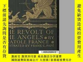 二手書博民逛書店【罕見】The Revolt of the Angels法朗士著