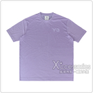 Y-3 CLASSIC胸前印花LOGO純棉短T(紫)