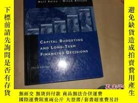 二手書博民逛書店Capital罕見Budgeting and Long-Term
