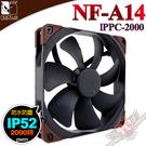 [ PC PARTY ] 貓頭鷹 Noctua NF-A14 lPPC-2000 工業級IP52防塵防水2000轉PWM