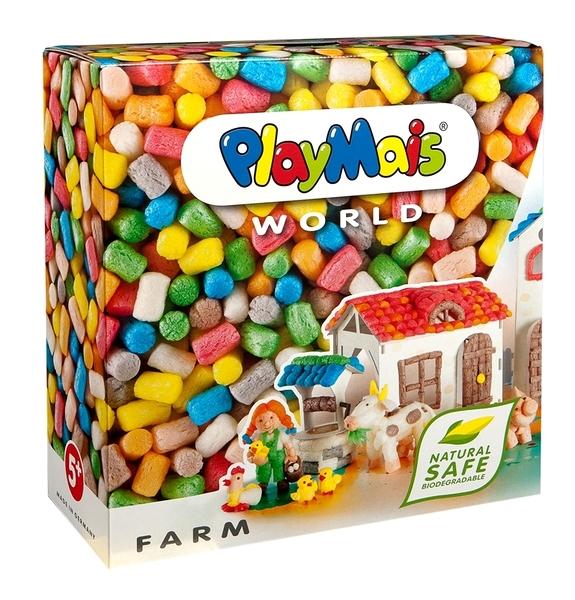 德國PlayMais 玩玉米創意黏土主題禮盒-農場假期
