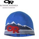 【Outdoor Research 美國 ADYOCATE BEANIE壓克力混紡透氣保暖帽《藍/紅》】254028/毛帽/出國旅遊