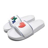 Puma 拖鞋 Leadcat FTR Badges 白 紅 男鞋 女鞋 絨毛設計 涼拖鞋 【ACS】 37262202