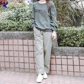 【春夏新品】American Bluedeer - 造型褲口長褲(特價) 春夏新款