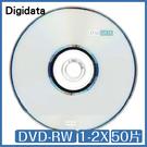 A級 Digidata 1-2X DVD-RW 4.7GB 支援CPRM 50片桶裝 光碟 DVD