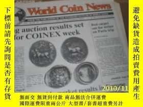 二手書博民逛書店World罕見Coin News(Vol.18,No.23)(N
