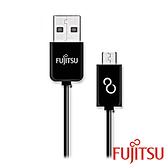 [富廉網] FUJITSU富士通 UM110-1K 黑色  MICRO USB傳輸充電圓線-15CM